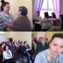 Собрание матерей с детьми